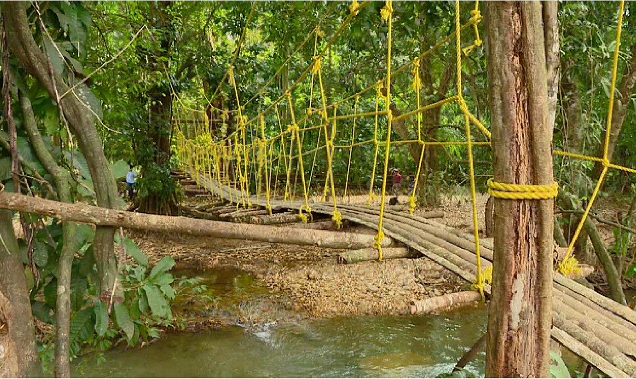 A Karnataka Villager Builds a Bridge to Help Children Go to School