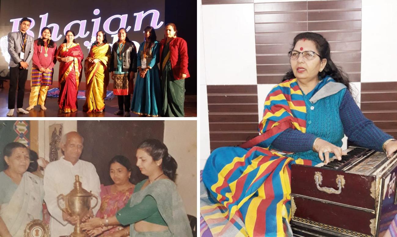 Sangeeta Sharma teaches the Melody of Self-Reliance